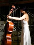 Cellist in Berlin fringe theatre