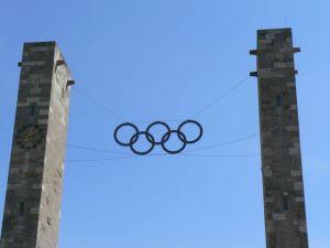 Entrance to Olympic stadium